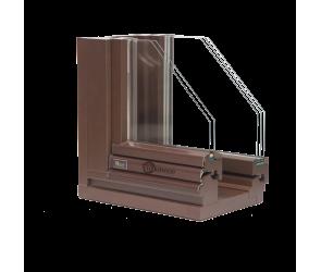 Деревянные окна Duo