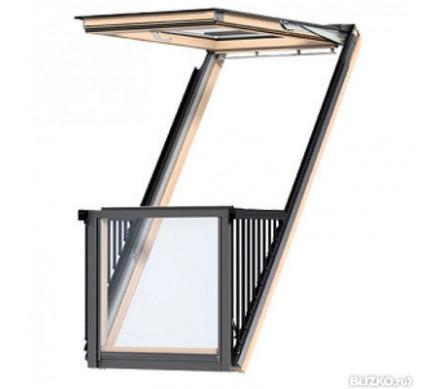 Окно-балкон VELUX CABRIO®