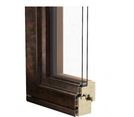 Дерево-бронзовые окна Antic-Bronze