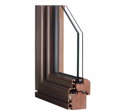 Дерево-бронзовые окна Dark-Bronze