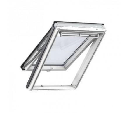 Панорамное белое полиуретановое окно
