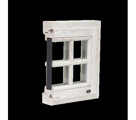 Деревянные окна Rustik Duplex